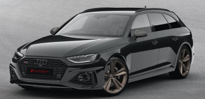 奥迪RS 4 Avant特别版官图发布 限量25台
