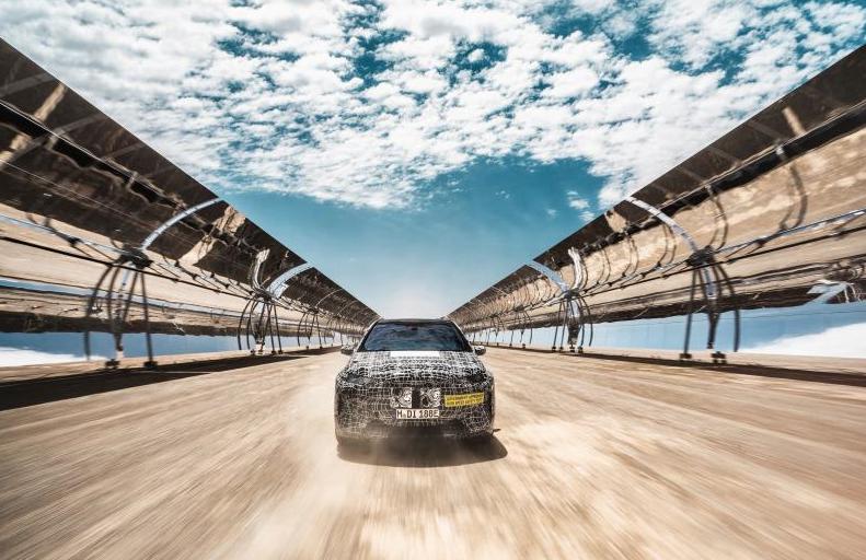 进行极端环境测试 BMW iNEXT即将正式量产