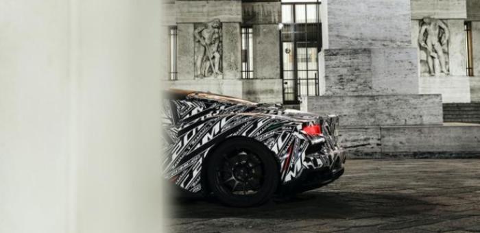 5月份正式亮相 玛莎拉蒂M20原型车谍照发布