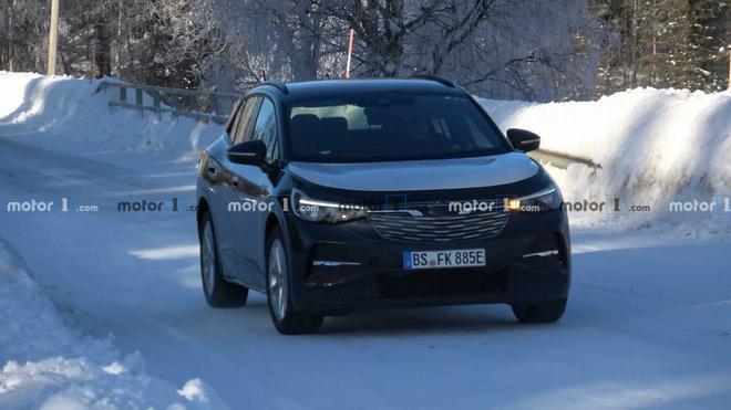 N2全球网-实拍全新大众ID.4车型测试照 今年正式发布