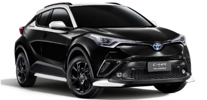 采用双色设计 丰田C-HR推老佛爷限定版