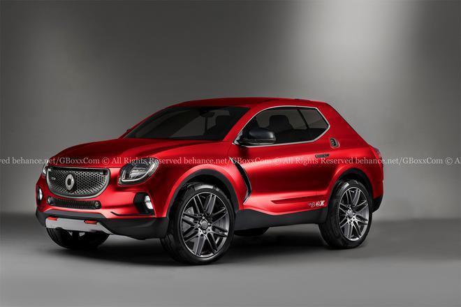 与吉利合资打造 Smart品牌首款SUV将面世-XI全网