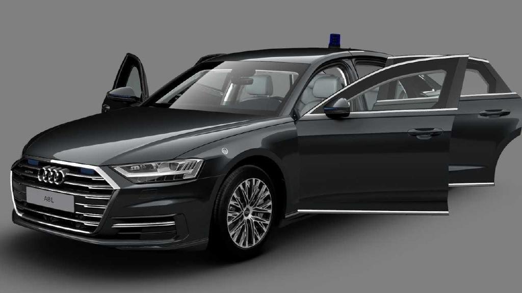 N2全球网-VR9级防弹保护 奥迪A8L Security车型发布