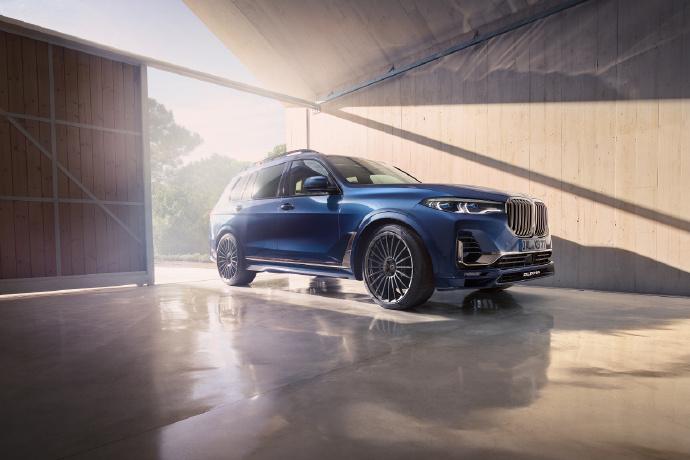 欧冠-基于宝马X7改造而来 Alpin发布全新车型XB7