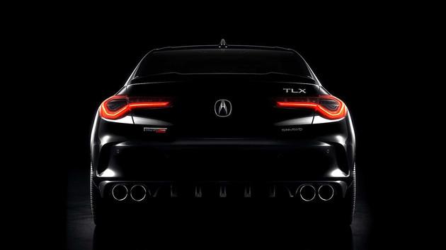 定位中型性能车 讴歌TLX Type S预告图发布-XI全网