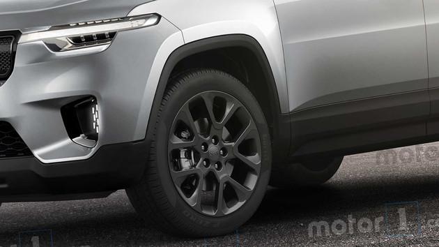 车价查询:Jeep全新SUV效果图曝光 2022年正式发布
