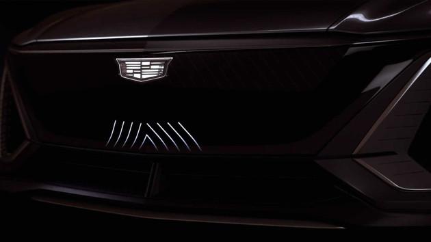 SSC设计-凯迪拉克跨界车Lyriq预告图发布 8月6日亮相