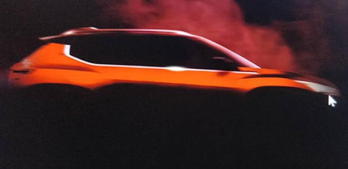 或命名为Magnite 日产小型SUV预告图曝光