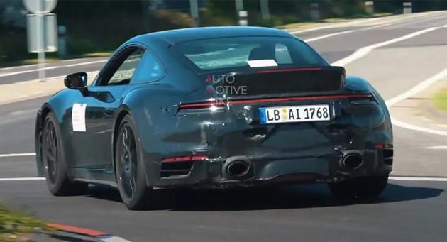 百公里加速2.6秒 保时捷911新车型谍照曝光