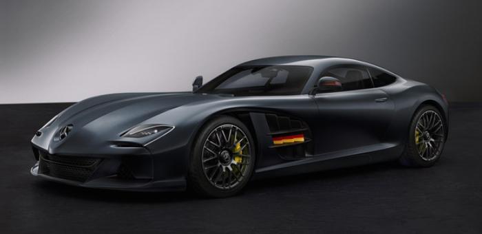 复刻经典元素 SLR-AMG概念车渲染图曝光