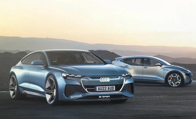 SSC设计-2024年问世 奥迪纯电轿车或命名A9 e-tron