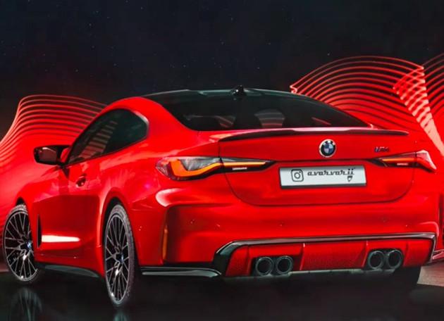车价查询:全新宝马M4最新渲染图曝光 9月将全球首发