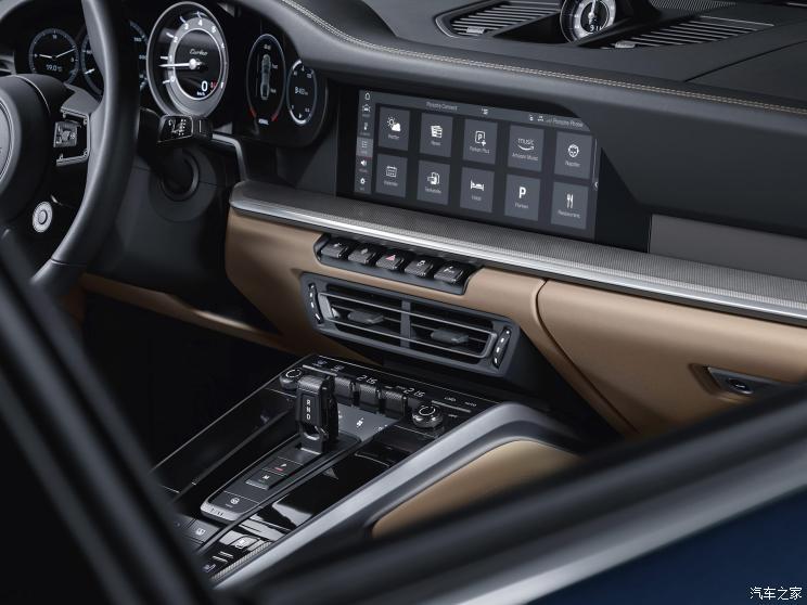 车价查询:填补空白 保时捷911 Turbo车型官图发布
