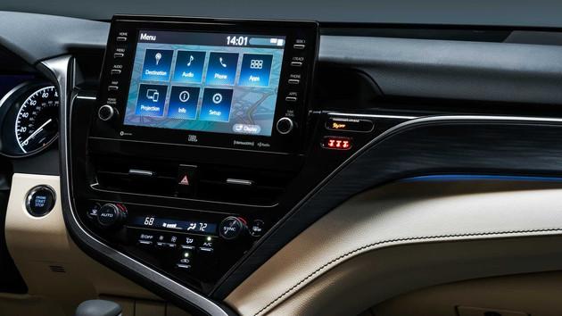 车价网:多种动力组合 丰田新款凯美瑞官图发布