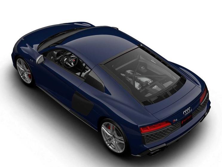 新车报价:仅发售30台 奥迪R8 V10限量版官图发布