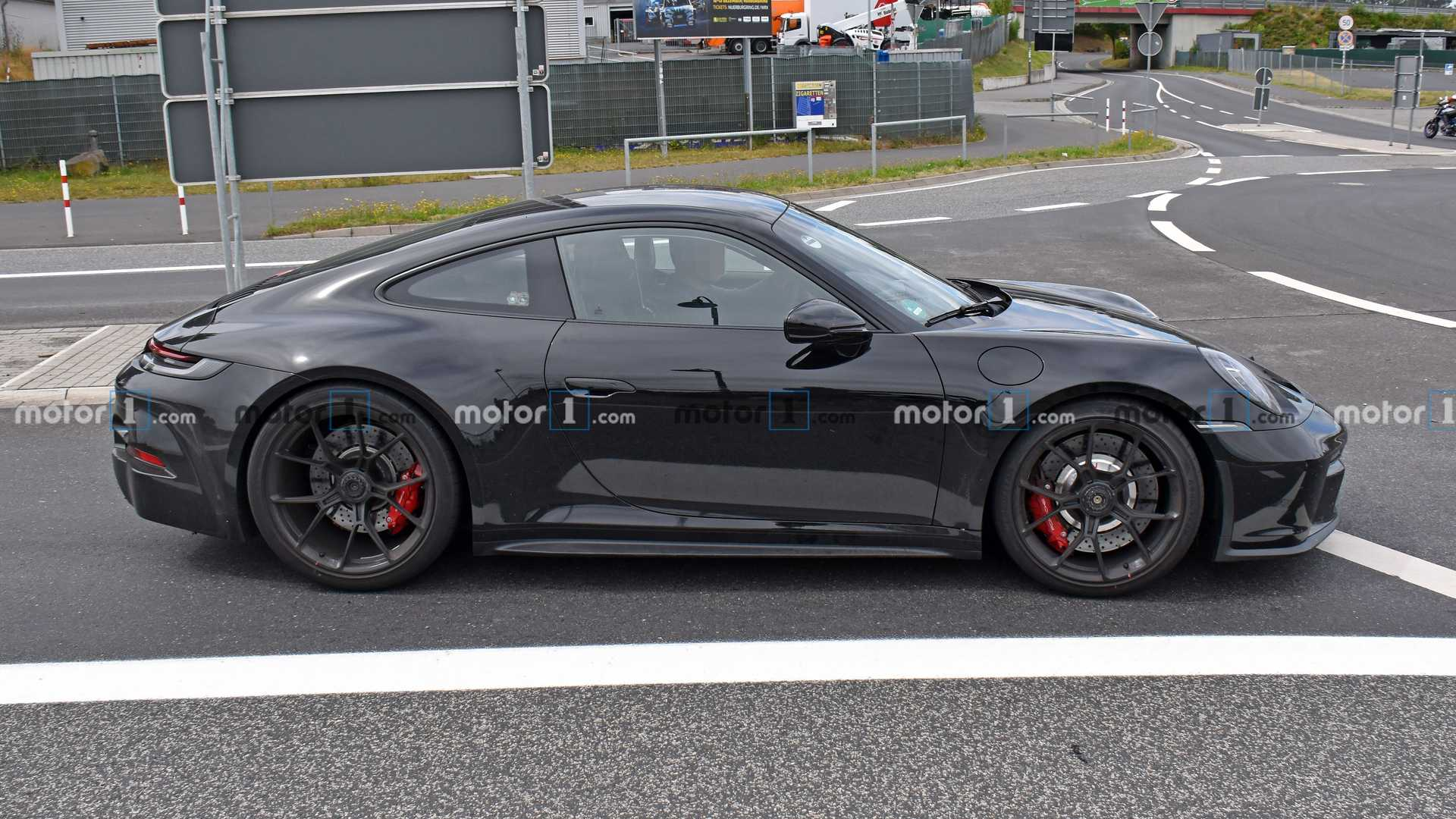 DS设计-保时捷911 GT3 Touring路试实拍图曝光
