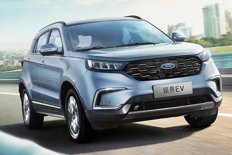 SSC设计-2020款福特领界EV开启预售 售价17.98万起