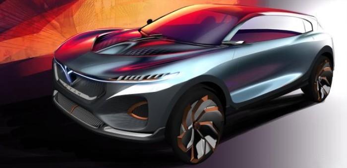 岚图首款量产概念车设计图发布,北京车展亮相