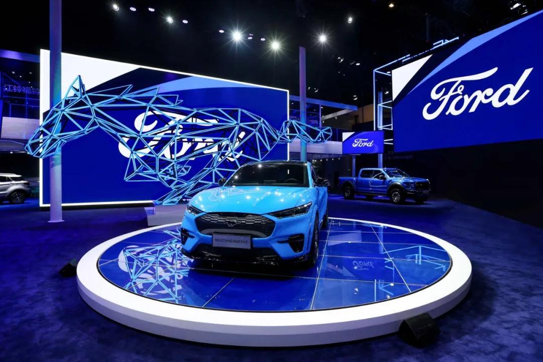 电气化新征程 福特Mustang Mach-E亮相