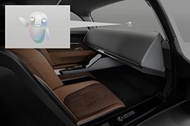 黑科技,前瞻技术,京瓷,透明仪表盘,Moeye概念车
