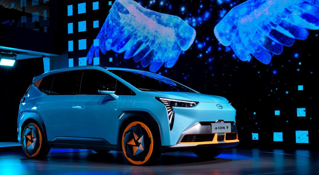 广汽埃安品牌独立  纯电SUV埃安Y全球首发-亚博-官网