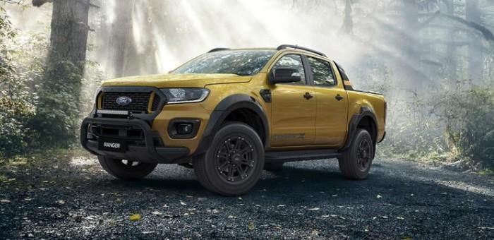 澳洲专属 新款Ranger Wildtrak X官图