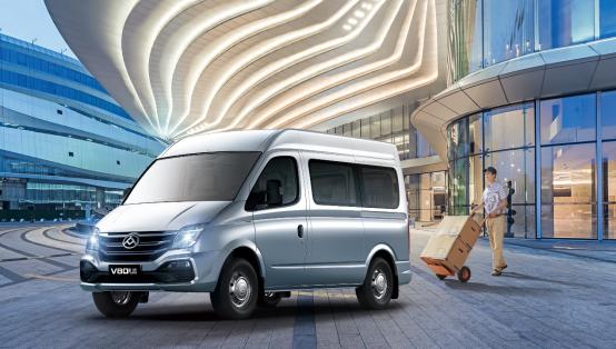 2021上汽大通MAXUS V80PLUS上市 12.98万起售-海博APP