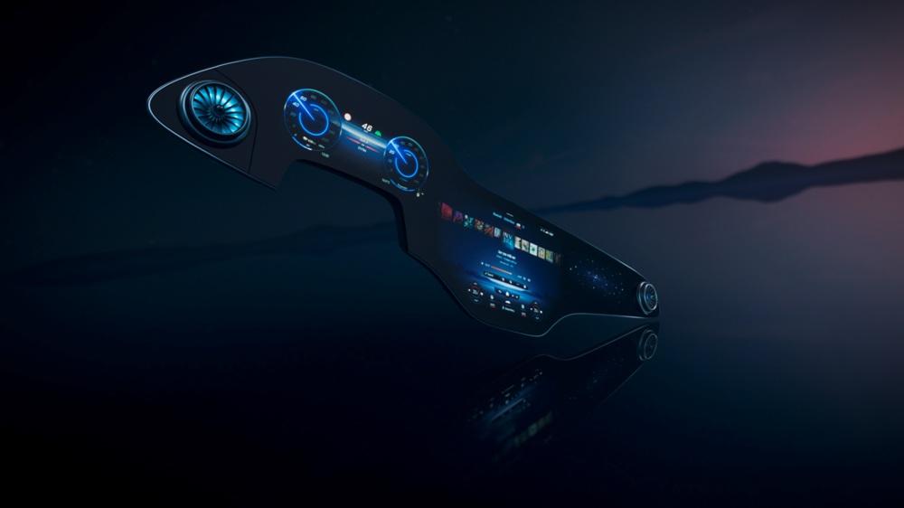 全新梅赛德斯-奔驰MBUX Hyperscreen首发-XI全网