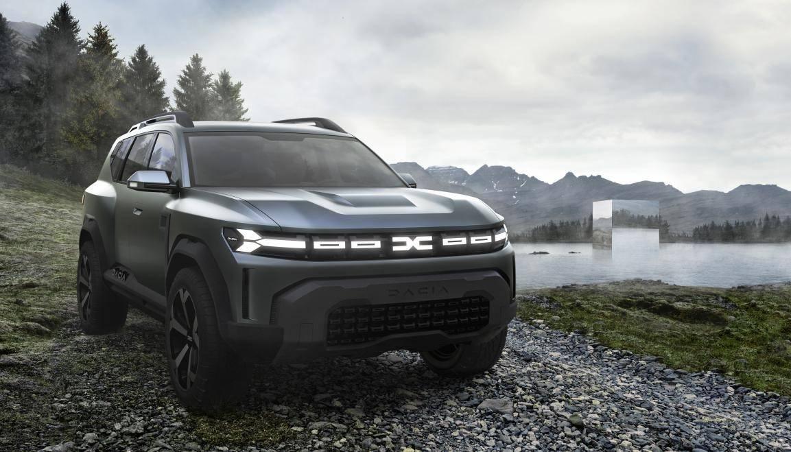 打破C级车市场  达契亚发布概念车Bigster-XI全网