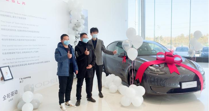 首批中国制造特斯拉Model Y开始交付-海博官网app