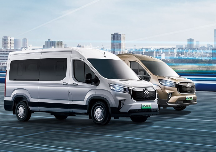 SSC设计-上汽大通MAXUS EV90纯电轻客售21.9万起