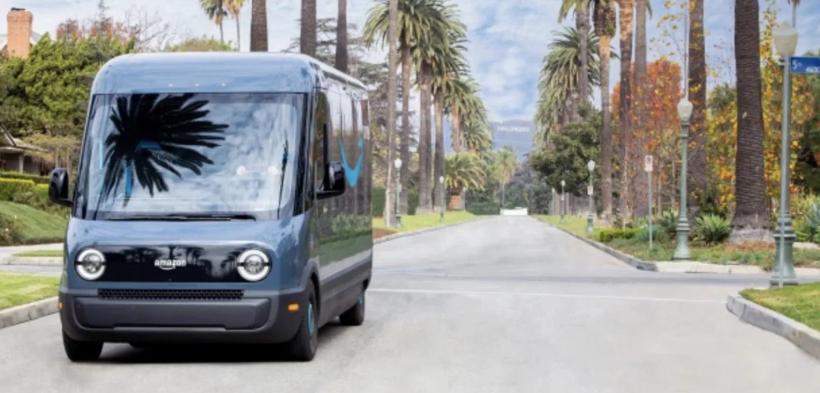 SSC设计-亚马逊正式开始使用Rivian电动货车配送商品