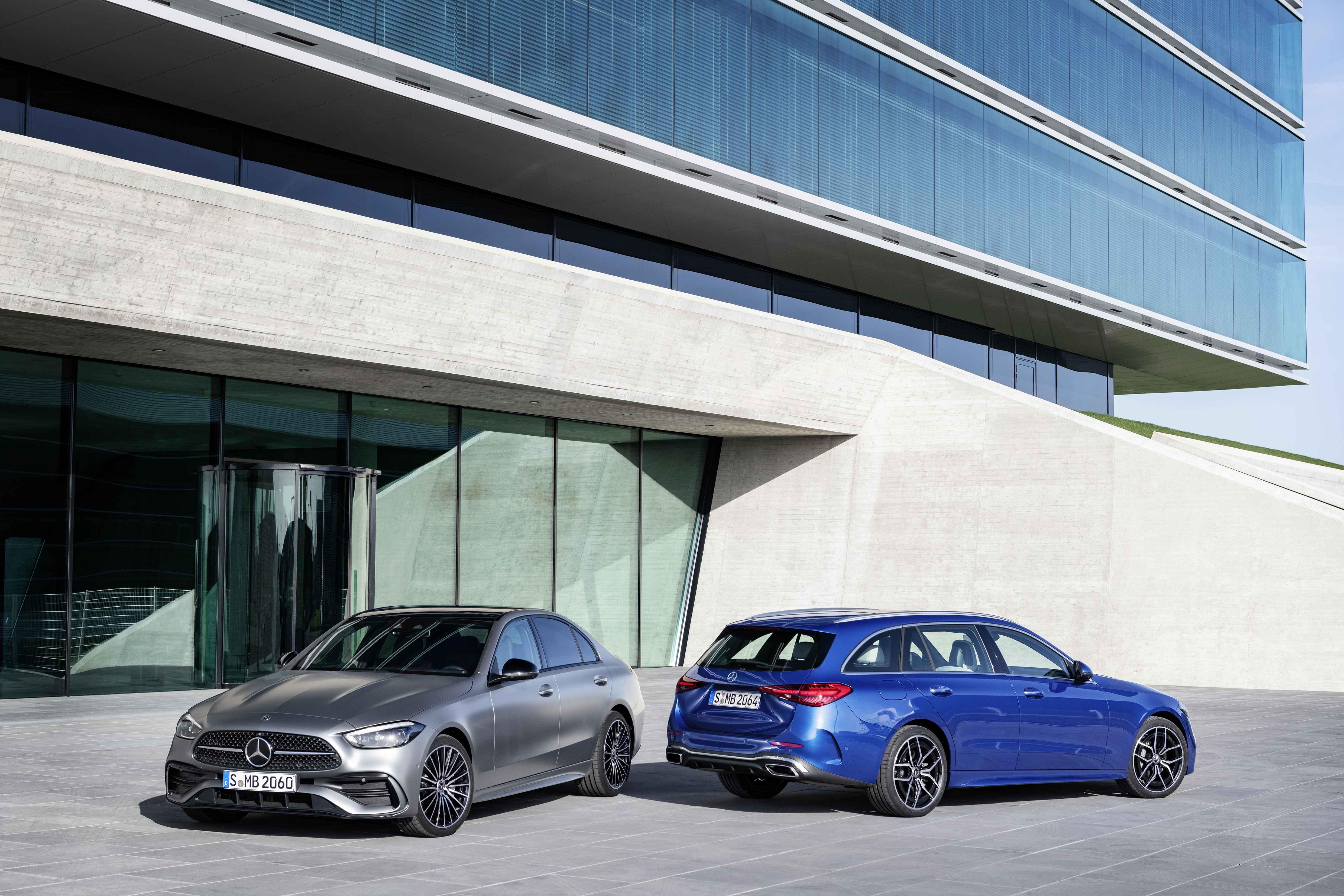 全新奔驰C级车型发布 实现全系电气化驱动-XI全网