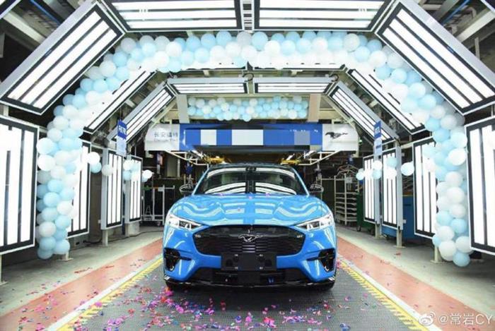 Mustang Mach-E试制车下线 或售35万元-海博体育官网app