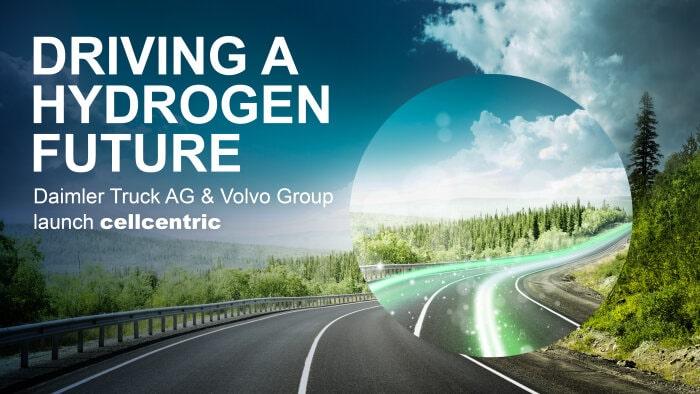 戴姆勒和沃尔沃集团设立燃料电池合资企业