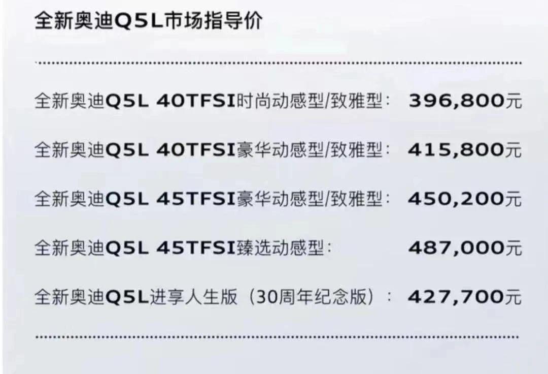 """奥迪Q5L以价换量的""""虚火""""还能烧多久?"""