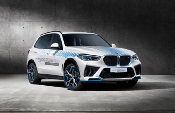宝马发布全球首台氢动力防弹安全车