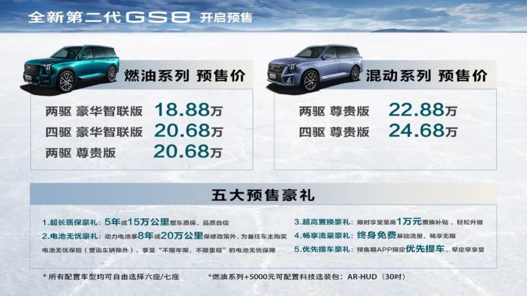 全新第二代GS8正式下线,能拿的出手远不止丰田混动技术