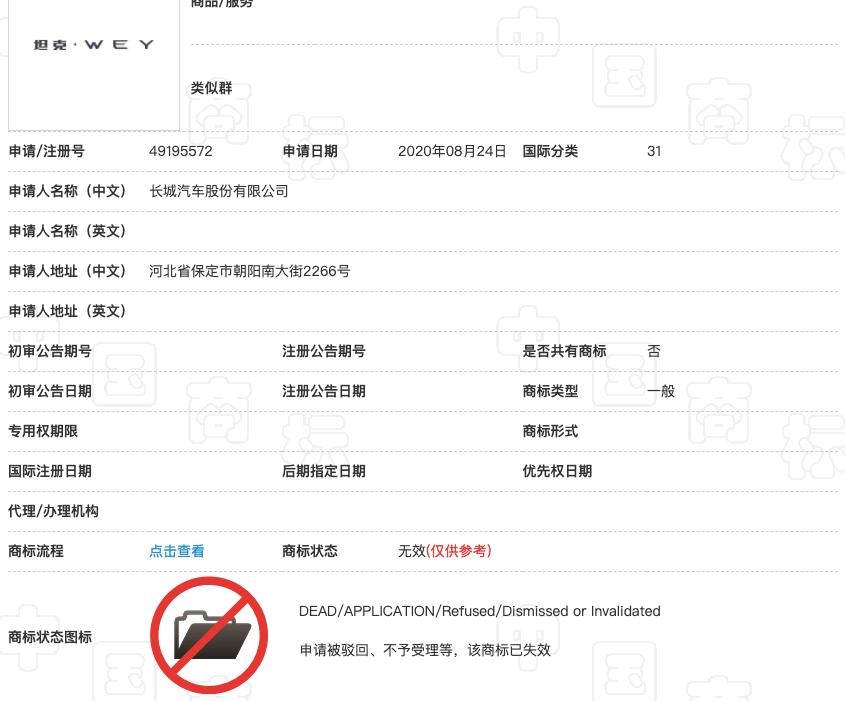坦克商标无效,或将面临被诉和改名?